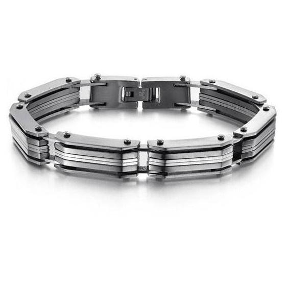 Prsten z chirurgické oceli PNY010