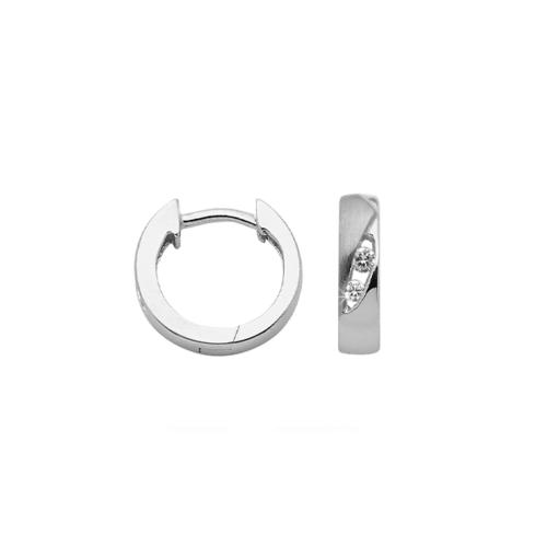 Náušnice z chirurgické oceli NCE030